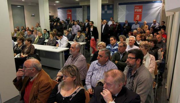 En la sede del PSN, en la presentación de candidaturas