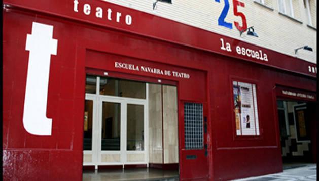 Responsables de la Escuela Navarra de Teatro