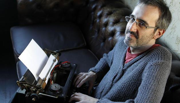 El escritor navarro Patxi Irurzun
