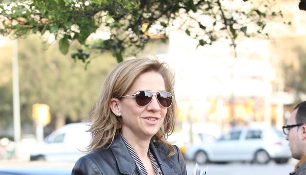 La Infanta Cristina en Barcelona