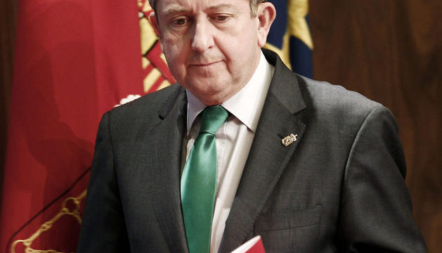 El vicepresidente segundo y consejero de Economía y Hacienda, Álvaro Miranda