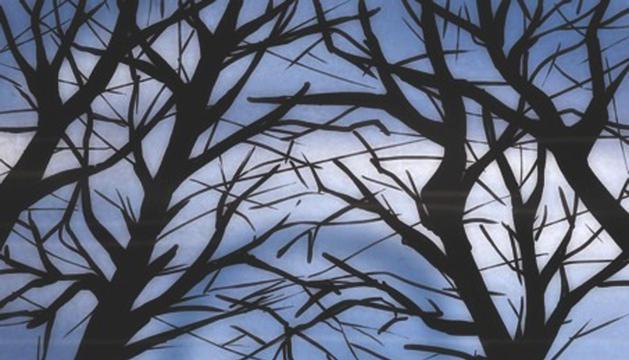 Obra del artista navarro Belatz, una de las que forman parte de la muestra basada en la película