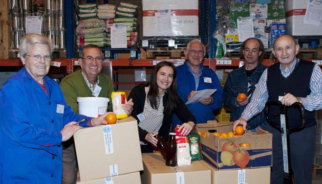Se necesitan voluntarios para recoger alimentos noticias de navarra en diario de navarra - Banco de alimentos de navarra ...