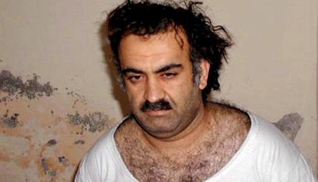 Jalid Sheij Mohamed, considerado el cerebro de los atentados del 11-S, momentos antes de su captura en 2003.