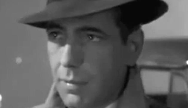 Fotograma al final de la película 'Casablanca', con Humpfrey Bogart