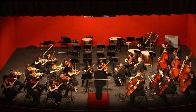 La Orquesta del Conservatorio Superior de Música de Navarra