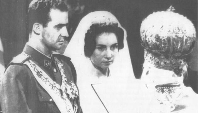 La boda de los Reyes en el palacio Tatoi