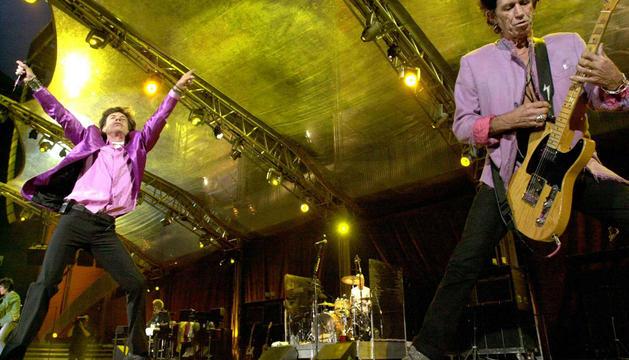 Los Rolling Stones, en San Mamés en 2003