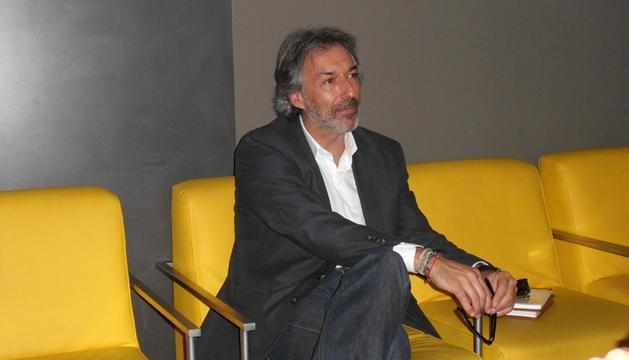 El escritor y psicólogo Manel Reyes, durante la entrevista