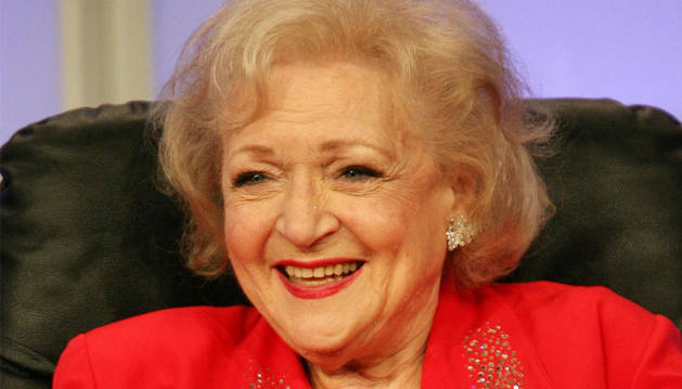 La actriz Betty White