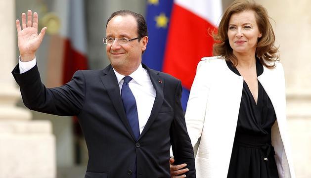 Imágenes de este martes 15 de mayo de la toma de posesión de François Hollande como presidente de Francia