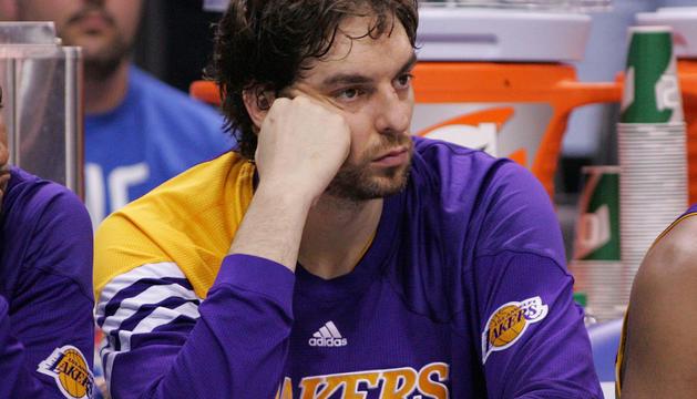 Gasol jugó 30 minutos en la derrota de Lakers