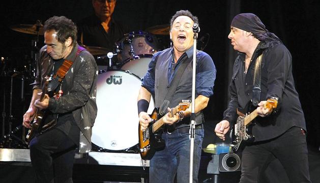 Bruce Springsteen ha reunido esta noche a más de 30.000 espectadores en Las Palmas de Gran Canaria