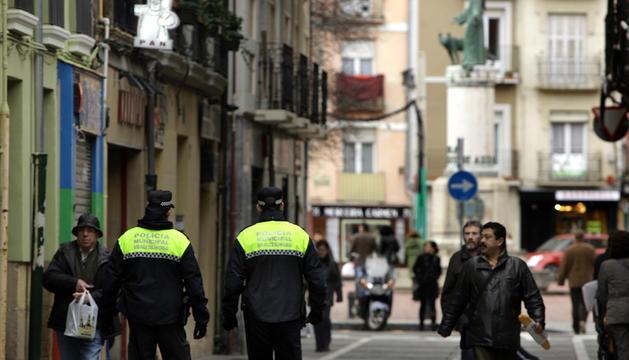 Imagen de una patrulla de la Policía Municipal