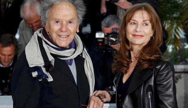 En la presentación de 'Amour', en Cannes