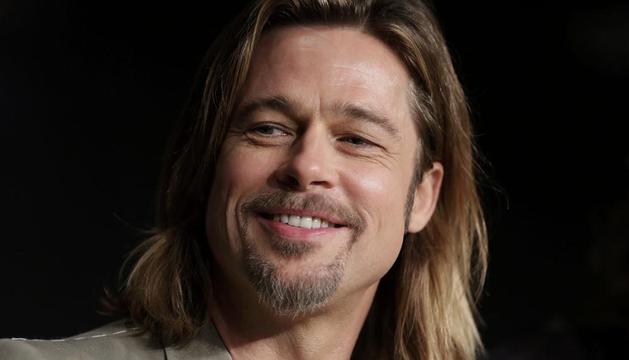 Brad Pitt, en la presentación de la película