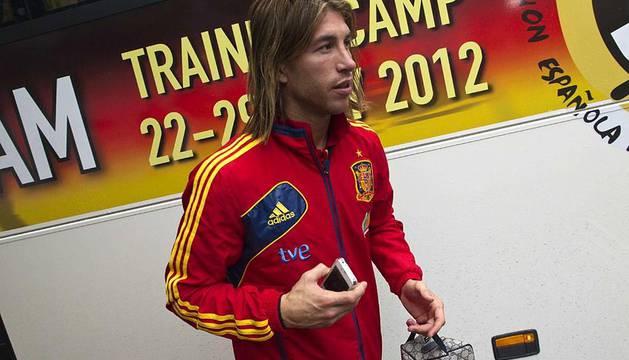 Llegada y entrenamiento de la selección española de fútbol en la localidad australiana de Schruns, previa a la disputa de la Eurocopa 2012 de Polonia y Ucrania.