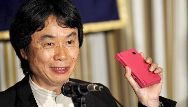 Fotografía de archivo  del japonés Shigeru Miyamoto, creador de la saga de videojuegos