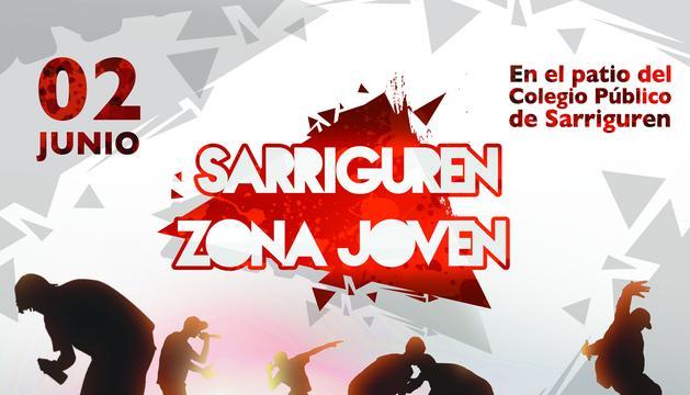 Póster de las fiestas de Sarriguren 2012