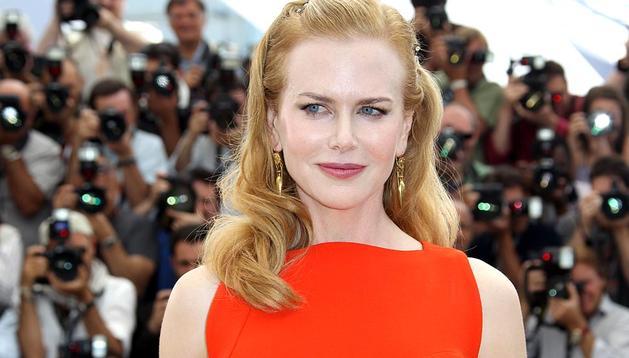 Nicole Kidman presentó