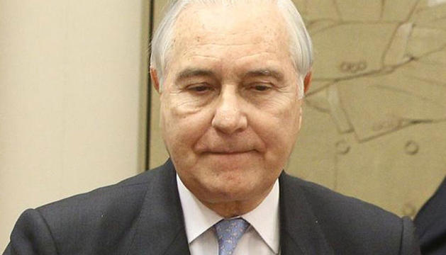 Carlos Dívar, presidene del Consejo General del Poder Judicial