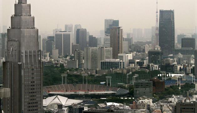 Vista del estadio Olímpico, en Tokio (Japón).