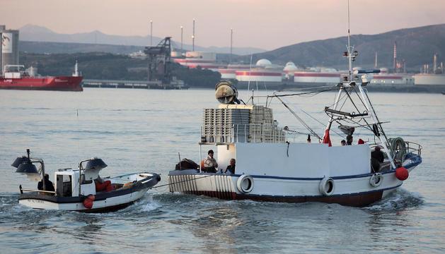 Un pesquero de Algeciras