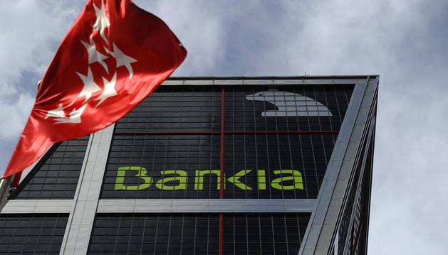 La sede de la institución financiera Bankia, en Madrid