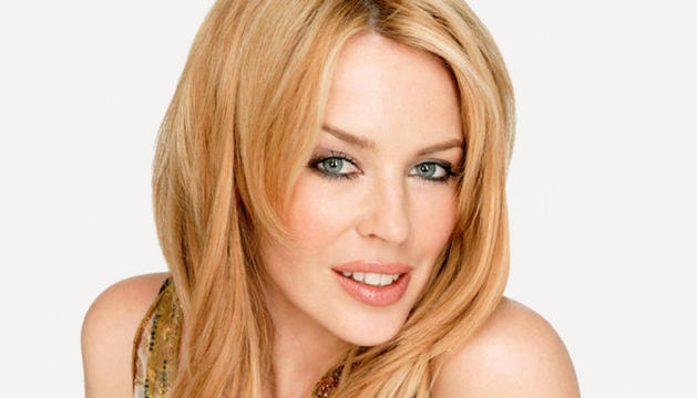 La cantante australiana Kylie Minogue