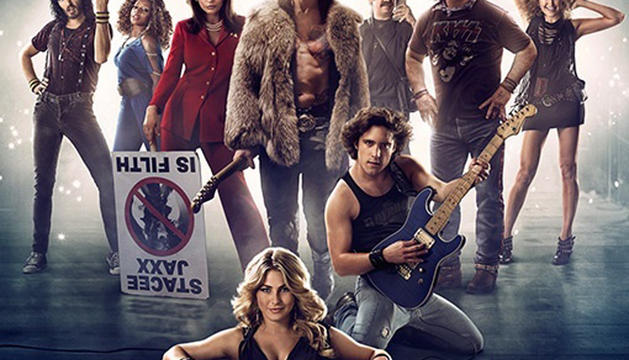 Protagonistas de la película 'Rock of Ages'