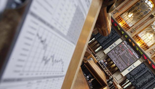 El parqué madrileño, durante la vsesión de este martes registraba un nuevo mínimo del Íbex 35