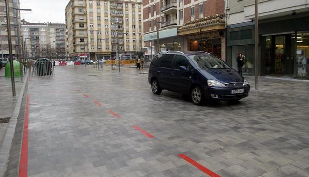 Martin Azpilcueta, una de las calles ya limitada a 30 km/h