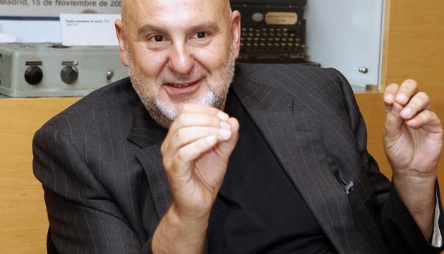 Antón Reixa fue elegido presidente de la SGAE el pasado 8 de mayo