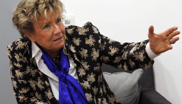 La escritora italiana Dacia Maraini