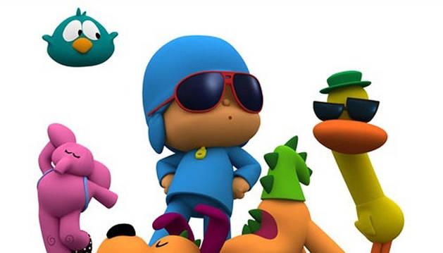 Imagen de la serie infantil Pocoyo