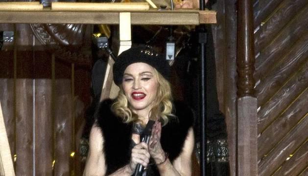 La reina del pop inició su gira mundial en la ciudad israelí