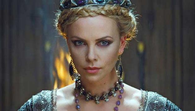 Charlize Theron, en Blancanieves