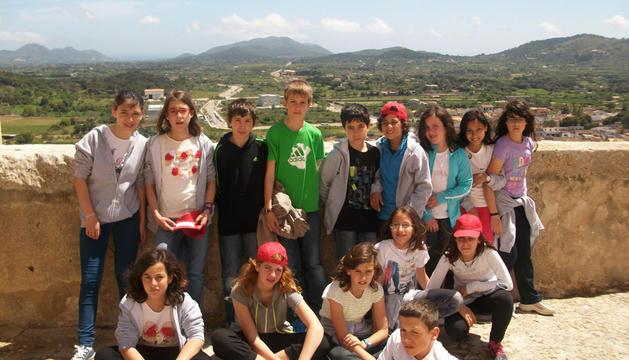 Estudiantes del colegio público de Cintruénigo en las Islas Baleares.