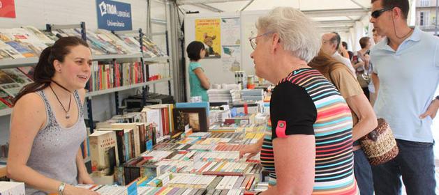 La Feria del Libro este sábado en Pamplona