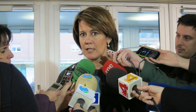 Yolanda Barcina, presidenta de UPN