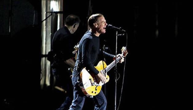 El cantante canadiense, Bryan Adams, en el Rock in Río en Lisboa
