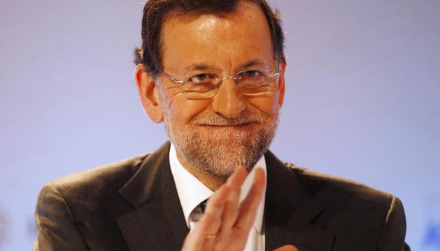 El presidente del Gobierno, Mariano Rajoy, este sábado