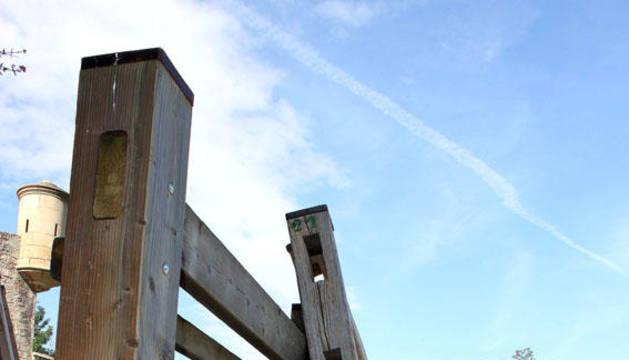 Hoy se ha iniciado el Montaje del vallado del encierro para los proximos Sanfermines
