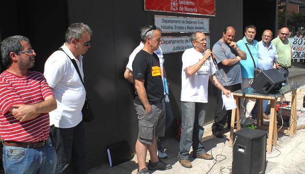 Huelga de los trabajadores de INASA