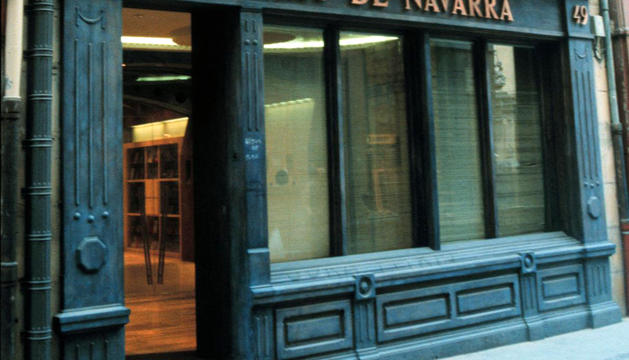 Sede de las oficinas de Diario de Navarra en Zapatería