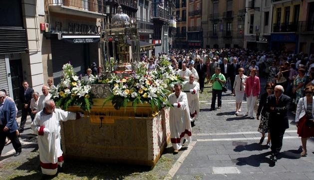 En la procesión del Corpus de 2011