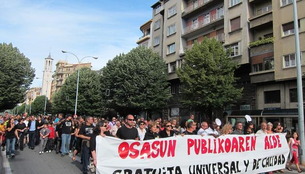 La marcha por la sanidad pública, este sábado