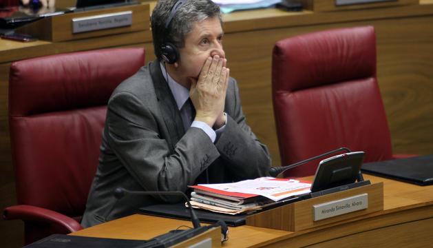 Miranda, en mayo, en el Parlamento