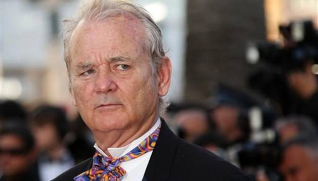 El actor Bill Murray