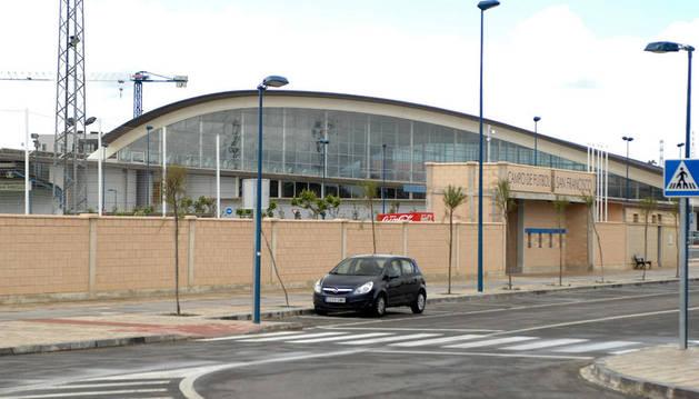 Instalaciones del campo de fútbol de la Peña Sport, donde iba a construirse el nuevo Mercadona